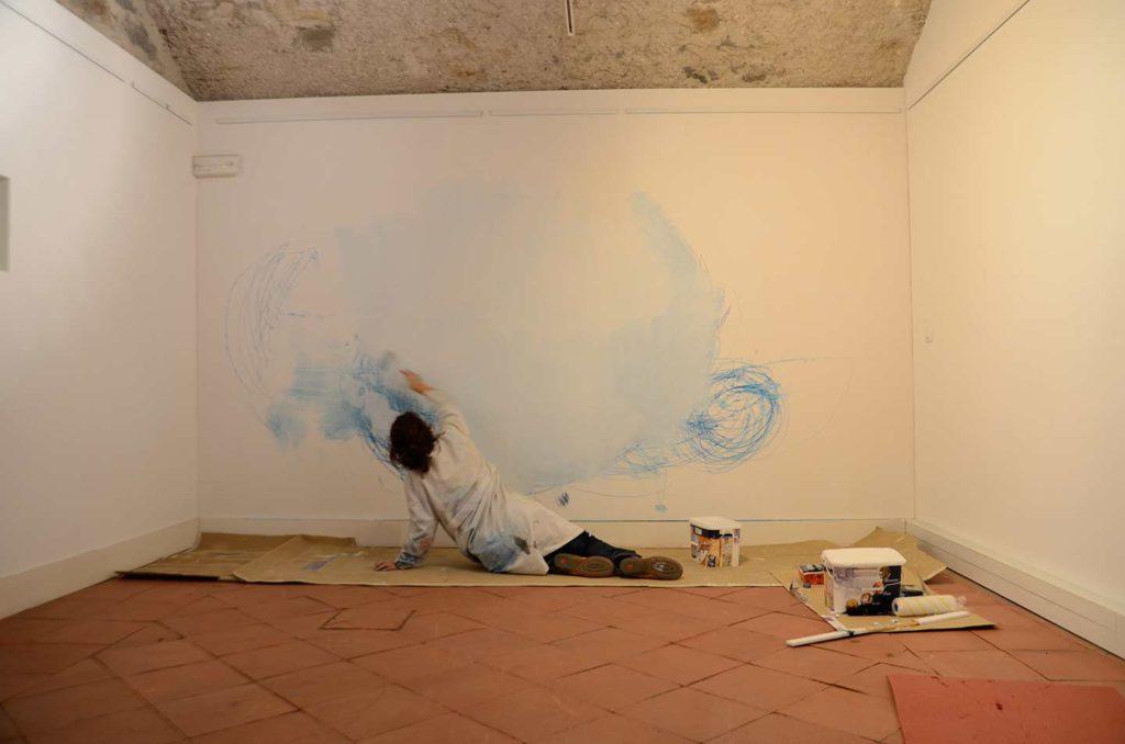 """Imatge del projecte artístic """"Els traços del cant"""" de Mar Serinyà"""